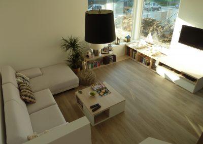 obývačka so sedackou