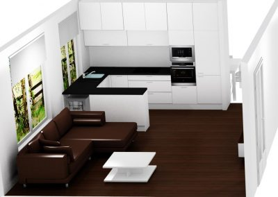 vizual kuchyna